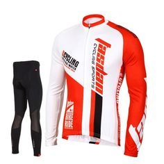 12 Best Men s Long Sleeve Cycling Jersey Set images  aca3027f6