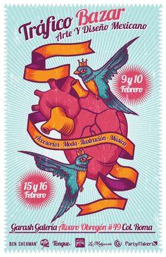 Tráfico Bazar: Arte y diseño mexicano