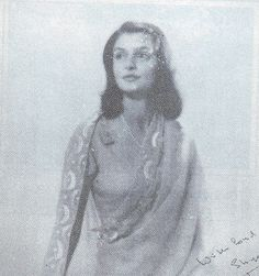 Princess Ayesha (Gayatri Devi) of Cooch Behar