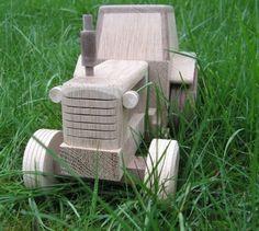Wooden Tractor Woodworking Workshop, Woodworking Classes, Woodworking Projects Diy, Woodworking Plans, Diy Projects, Western Bar, Wood Toys Plans, Tree Plan, Diy Hacks