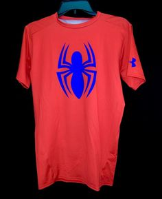 Under Armour Mens Red Spiderman Compression Shirt 1244399 Alter Ego Size Large #UnderArmour #CompressionShirtsTops