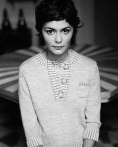 I love Audrey Tautou - for me she'll stay forever Amélie Poulain ( a pure inspiration )