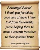A prayer to the Archangel Azael