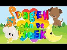 Dagen van de week | Liedje | Maandag zwaai ik | Thema Tijd #peuters #kleuters #dreumes - YouTube