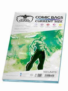 Ultimate Guard UGD020002 - Comic Bags, wiederverschließbar, Current Size, 100 Stück: Amazon.de: Spielzeug
