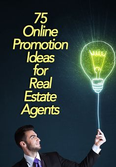Enhance your real estate marketing with these 75 interesting ways topromote your brand online. Real Estate Career, Real Estate Leads, Real Estate Business, Selling Real Estate, Real Estate Sales, Real Estate Investing, Real Estate Marketing, Real Estate Articles, Real Estate Information