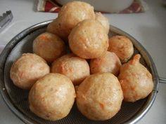 fried pork meat ball ( bakso goreng babi )