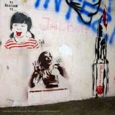 Beogradski grafiti.: Ne slušam te... / Ink / BIGZ #Beograd #Belgrade #Graffiti #Grafiti #StreetArt