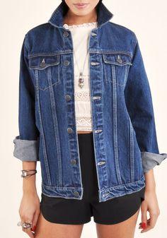 Courtshop Blue Boyfriend Jacket