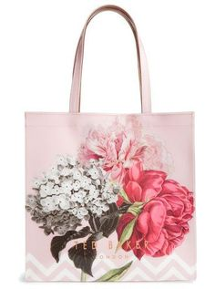 cea6fcc90497 Trendy Women s Bags   palace gardens large icon tote by Ted Baker. With its  gorgeous flower print and …
