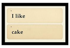 Cake  ~~ Flash cards are designed to make learning fun, but the fun doesn't need to end with toddlerhood. Cute decorating ideas, tongue-in-cheek winks and nods, thoughtful messages; expressions to meet all of these goals can be found in flash cards.
