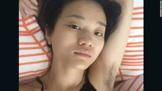Feminist Xiao Meili started female armpit hair photo contest on the Chinese social network Weibo. Her goal: To start a conversation about gender inequality.