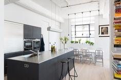 West London Loft Apartment by Nia Morrison Studio