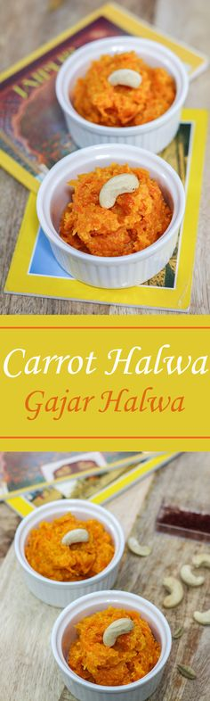 Gajar Halwa or Carrot Halwa is an amazing dessert to make and it requires just a handful of ingredients.