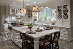 Traditional Kitchen Design by Drury Design Kitchen & Bath Studio, via Flickr