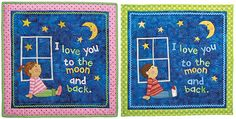 Perfect for the Nursery or a Child's Room! This sweet little quilt is perfect for the nursery wall and sure to become a keepsake. Make it up for either a boy or girl in colors you know the new mom will like best. Or, give it to a youngster as a special gift. You may …