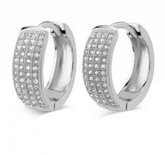 Stříbrné kruhy s mikro zirkony 5 mm Engagement Rings, Bracelets, Silver, Jewelry, Rings For Engagement, Bangles, Wedding Rings, Jewlery, Money