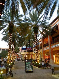 City Place ~ West Palm Beach, Florida. Great Nearby Vacation Rental Lodging: http://PalmBeachCountyVacationRental.com