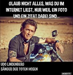 Glaub nicht alles, was du im Internet liest, nur weil ein. Really Funny Memes, A Funny, Hilarious, Sarcastic Quotes, Funny Quotes, Good Humor, The Life, Physical Activities, Satire