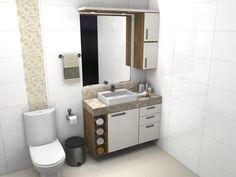 Banheiro - D'Fine Interiores
