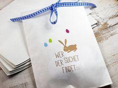 Eiersuchen+Set+10+x+Ostertüte+Nils+mit+Schleife+von+die-feinepapeterie+auf+DaWanda.com