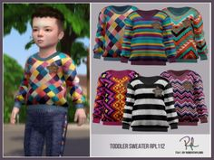 Toddler Sweater - Sims 4 Updates -♦- Sims 4 Finds & Sims 4 Must Haves -♦-