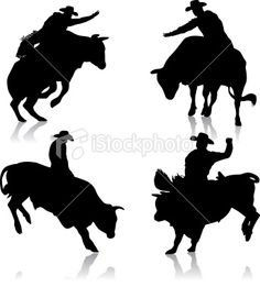 bull silhouette - Google Search Horse Silhouette, Silhouette Vector, Baby Wolves, Red Wolves, Rodeo Birthday, Bucking Bulls, Leather Tooling Patterns, Bull Riders, Skull Painting