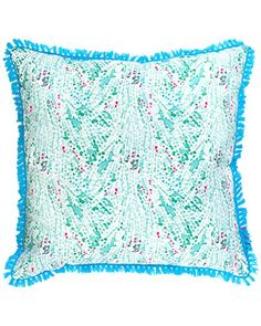 Lilly Pulitzer Coral Cay Large Pillow *** You can find out more details at the link of the image.-It is an affiliate link to Amazon. #DecorativePillowsInsertsCovers