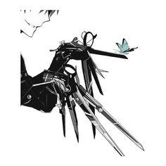Edward Scissor hands #animeversion