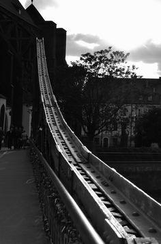 most z kłódkami