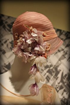 1920's Cloche Hat - Phoenix Art Museum - @~ Mlle
