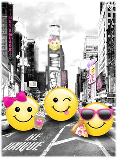 Nothing stands out in a big city crowd like a big, bright smile. :-)