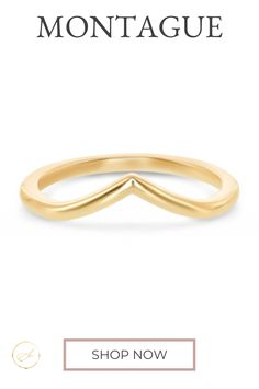 This modern metal nesting band is a perfect match to any fancy cut diamond diamond ring. Comes in Rose Gold, Yellow Gold and Platinum.