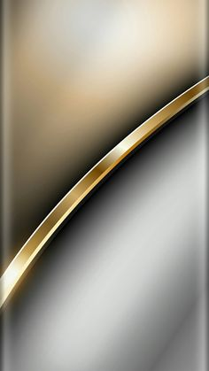 Gold and Chrome Wallpaper