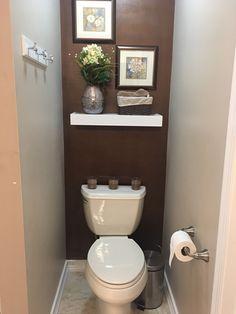 Bathroom Niche: Learn How To Choose And See Ideas With Photos - Home Fashion Trend Half Bath Decor, Half Bathroom Decor, Bathroom Niche, Bathroom Design Small, Bathroom Layout, Bathroom Furniture, Bathroom Ideas, Bathroom Plants, Toilet Room Decor
