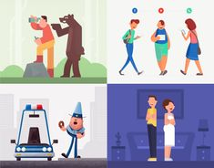 "Popatrz na ten projekt w @Behance: ""Character Collection Vol.1"" https://www.behance.net/gallery/52244095/Character-Collection-Vol1"