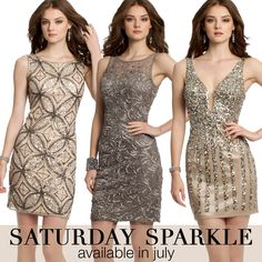 Camille La Vie short dresses with sparkle for homecoming