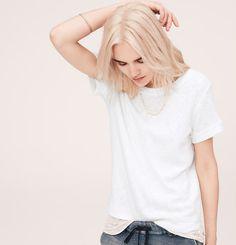 Lou & Grey Summer Sweatshirt Tee | Loft
