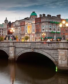 Dublin is a big city in Ireland and has a surprisingly little or nonexistent amount of skyscrapers.