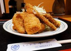 13時からはミックスフライ定食が500円 銀座「とんかつ不二」