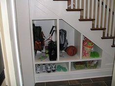 under stairs closet storage design ideas