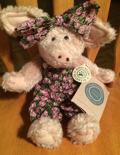 US $7.99 Used in Dolls & Bears, Bears, Boyds #Boyds #Plushtoys #Pig
