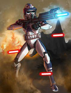ARF Trooper Smack by SpaceSharkz