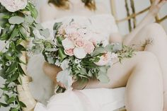 A wonderful team of ladies put together this styled boudoir session and were the most encouraging along the way. Our model Bridget had actually never modeled before, but was a brave soul who was willing to let her beauty shine through vulnerability.  --  Photographer: Ellie Koleen // Florals: Fleurie Flower Studio // Makeup: Makeup By Amanda Marie // Hair: Brittany Martin Stylist // Model: Bridget Marowski // Macrame Hanging: Propagate Succulents // Lingerie: BHLDN // Clogs: BRYR Studio