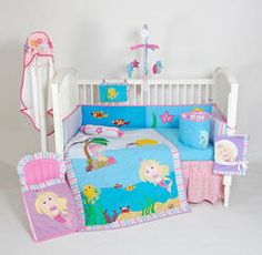 4pcs Bed Set - Mermaid