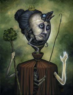 """""""Queen Of Wands' by js4853 @ deviantart"""