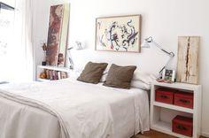 En el dormitorio.( Foto: Facundo Basavilbaso/ Para Ti) Furniture, Home Decor, Decor, Bed