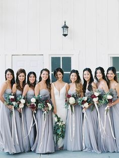 Soft and stunning bridesmaid party: http://www.stylemepretty.com/little-black-book-blog/2017/02/08/soft-intimate-al-fresco-california-wedding/ Photography: Luna De Mare - http://lunademarephotography.com/