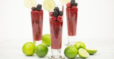 83 Limeberry Crushrecipe 2  c  mixed berries 3  tbsp  lime juice, freshly squeezed 3  tbsp  agave nectar 3  c  ice cubes