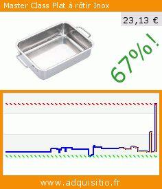 Master Class Plat à rôtir Inox (Cuisine). Réduction de 67%! Prix actuel 23,13 €, l'ancien prix était de 69,23 €. http://www.adquisitio.fr/kitchen-craft/master-class-plat-r%C3%B4tir